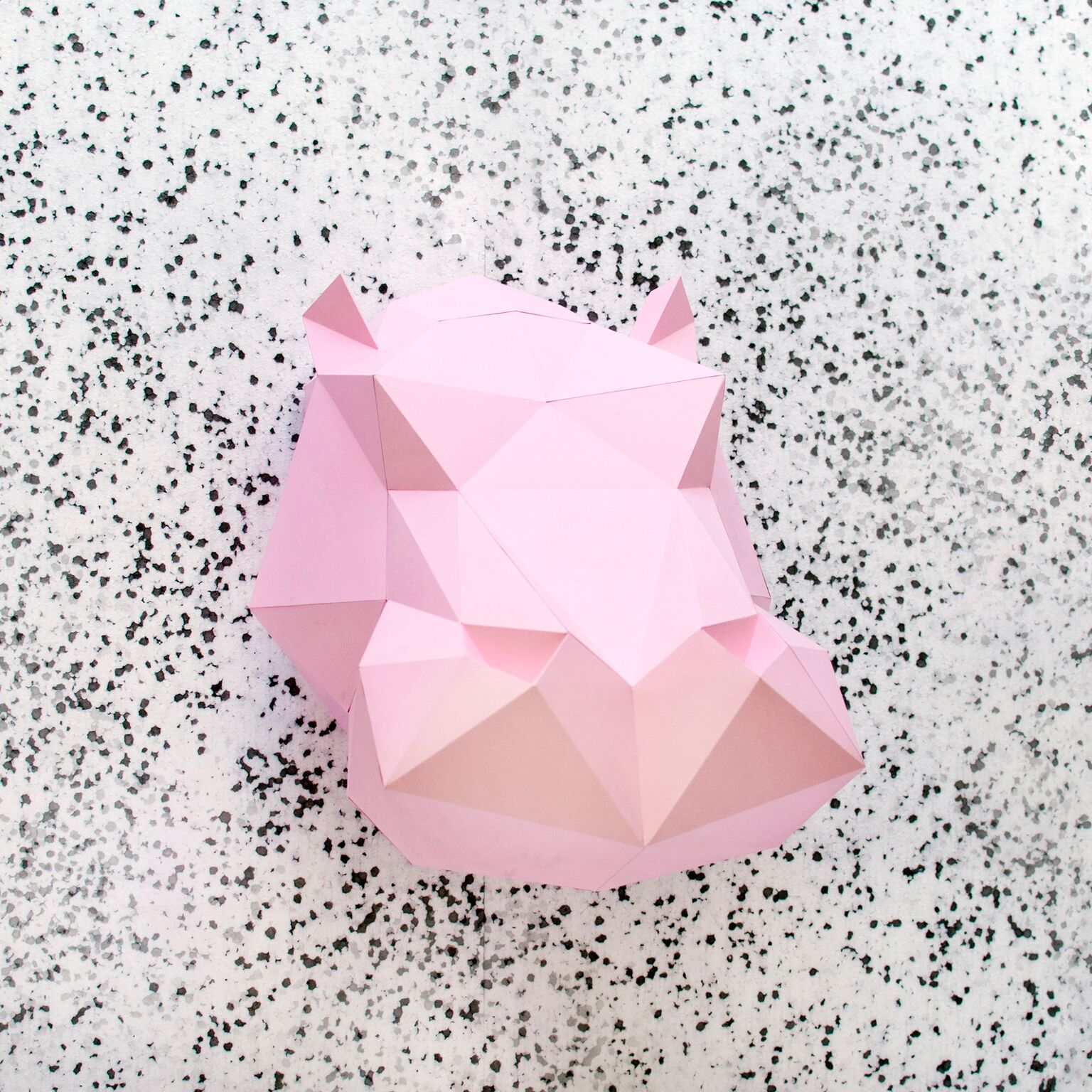 Paper Hippo Pink